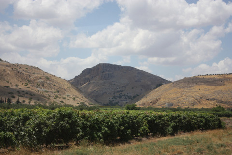 mountains near galilee