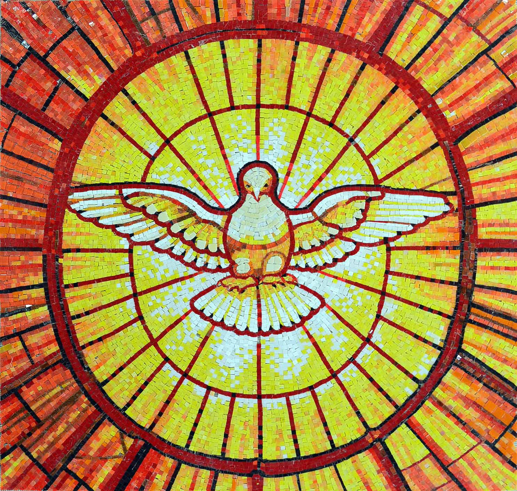The Holy Spirit, Wings of Fire Reaching to the Rims of the Wheel