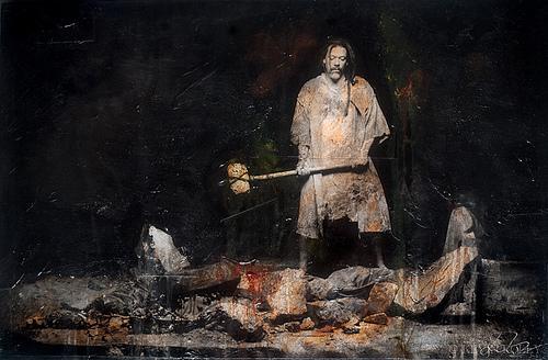 gideon destroys the altar of baal