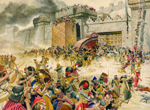 assyrian conquest of israel
