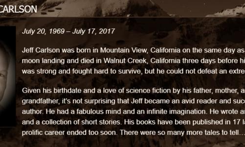 In Memory: Jeff Carlson